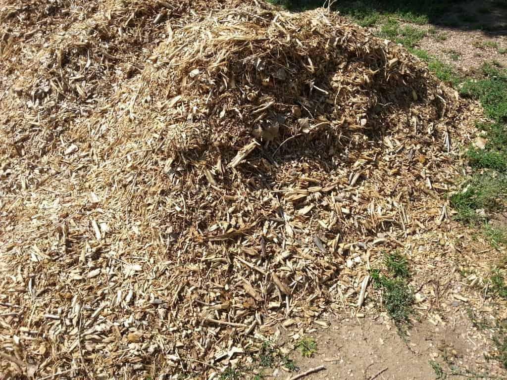 free wood mulch